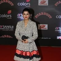 Bhumika Chawla - Red Carpet: Sansui Colors Stardust Awards 2016 Pictures