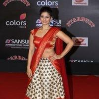 Tanisha Mukherjee - Red Carpet: Sansui Colors Stardust Awards 2016 Pictures