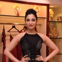 Tamanna Bhatia - PICS: Celebrities attend preview of party wear collection by Esha Amin at Azva