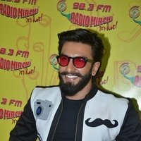 Ranveer Singh - Promotion of film Befikre at Radio Mirchi Studio Photos