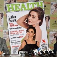 Amy Jackson during the Health and Nutrition magazine cover launch photos | 1441410
