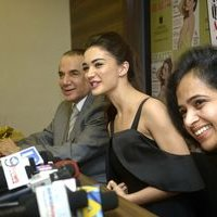 Amy Jackson during the Health and Nutrition magazine cover launch photos | 1441413