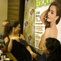 Amy Jackson during the Health and Nutrition magazine cover launch photos | 1441397