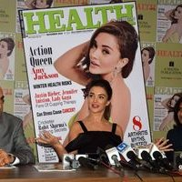 Amy Jackson during the Health and Nutrition magazine cover launch photos | 1441404