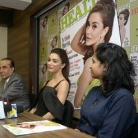 Amy Jackson during the Health and Nutrition magazine cover launch photos | 1441408