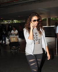 Huma Qureshi - Celebrities Spotted at Airport