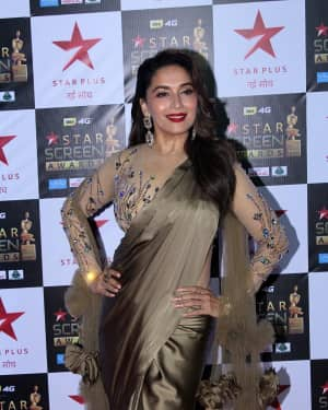 Madhuri Dixit - Photos: Celebs at Red Carpet Of Star Screen Awards