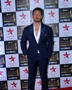 Tiger Shroff - Photos: Celebs at Red Carpet Of Star Screen Awards