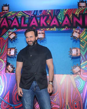 Saif Ali Khan - Photos: Unveil The Trailer Of Film Kaalakaandi