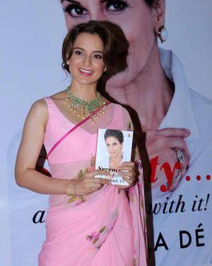 Kangana Ranaut - Photos: The Launch Of Shobhaa De Book Seventy And To Hell With It