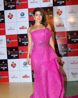 Priyanka Chopra - Photos: Celebs At Red Carpet Event Of Zee Cine Awards 2018   Picture 1552784