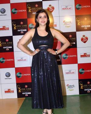 Mannara Chopra - Photos: Celebs At Red Carpet Event Of Zee Cine Awards 2018