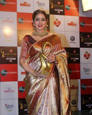 Sridevi Kapoor - Photos: Celebs At Red Carpet Event Of Zee Cine Awards 2018