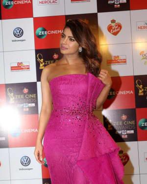 Priyanka Chopra - Photos: Celebs At Red Carpet Event Of Zee Cine Awards 2018   Picture 1552785