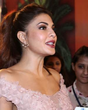 Jacqueline Fernandez - Photos: Celebs At Red Carpet Event Of Zee Cine Awards 2018