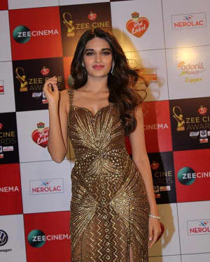 Nidhi Agarwal - Photos: Celebs At Red Carpet Event Of Zee Cine Awards 2018