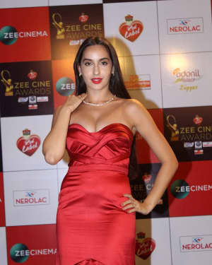 Nora Fatehi - Photos: Celebs At Red Carpet Event Of Zee Cine Awards 2018