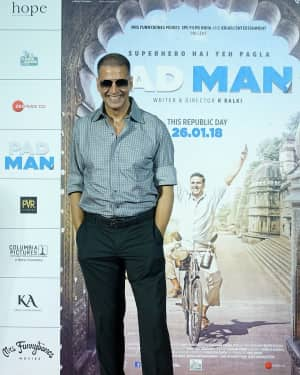Akshay Kumar - Photos: Song Launch Of Film Padman