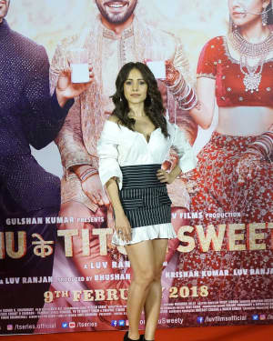 Nushrat Bharucha - Photos: Trailer Launch Of Film Sonu ke Tittu Ki Sweety