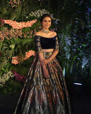 Aditi Rao Hydari - Photos: Anushka Sharma And Virat Kohli's Wedding Celebration In Mumbai