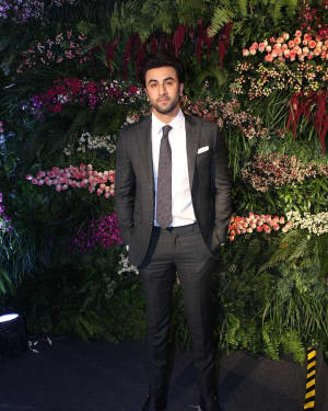 Ranbir Kapoor - Photos: Anushka Sharma And Virat Kohli's Wedding Celebration In Mumbai