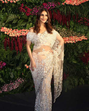 Vaani Kapoor - Photos: Anushka Sharma And Virat Kohli's Wedding Celebration In Mumbai