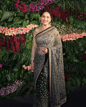 Madhuri Dixit - Photos: Anushka Sharma And Virat Kohli's Wedding Celebration In Mumbai
