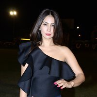 Kim Sharma Spotted at Polo Cup 2017 Party Images