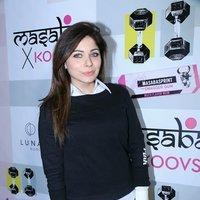 Kanika Kapoor - Celebs attended Masaba Gupta X Koovs Launch Party Images