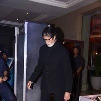Amitabh Bachchan - Neil Nitin Mukesh and Rukmini Sahay Wedding Reception Images