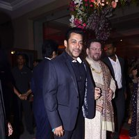 Salman Khan - Neil Nitin Mukesh and Rukmini Sahay Wedding Reception Images