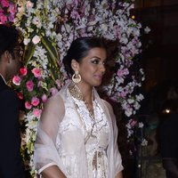 Mugdha Godse - Neil Nitin Mukesh and Rukmini Sahay Wedding Reception Images
