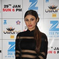 Mouni Roy - Bollywood Celebs on red carpet at Umang 2017 Photos