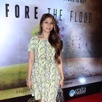 Tanisha Mukherjee - The Screening Of Leonardo Dicaprio's Before The Flood In India Pictures