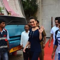 Amy Jackson at Mehboob Studio Pictures