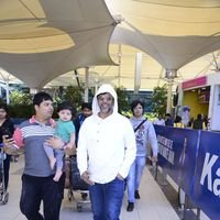 Javed Jaffery Spotted at Mumbai Domestic Airport Pics