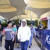 Javed Jaffery Spotted at Mumbai Domestic Airport Pics