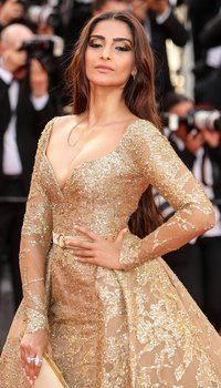 Sonam Kapoor at 70th Cannes Film Festival - 'The Killing of the Sacred Deer' - Red Carpet
