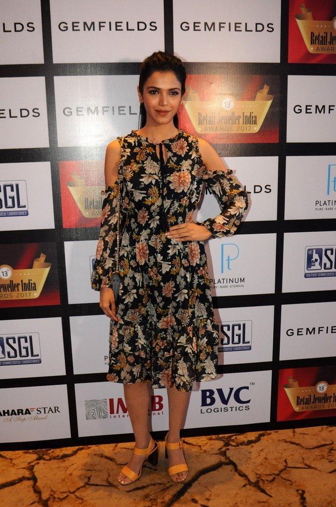 Shriya Pilgaonkar - 13th Gemfields Jewellery Retail India Awards 2017   Picture 1502369