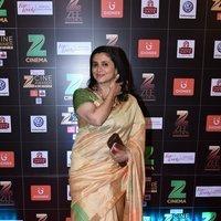 Supriya Pilgaonkar - Zee Cine Awards 2017 Red Carpet Photos