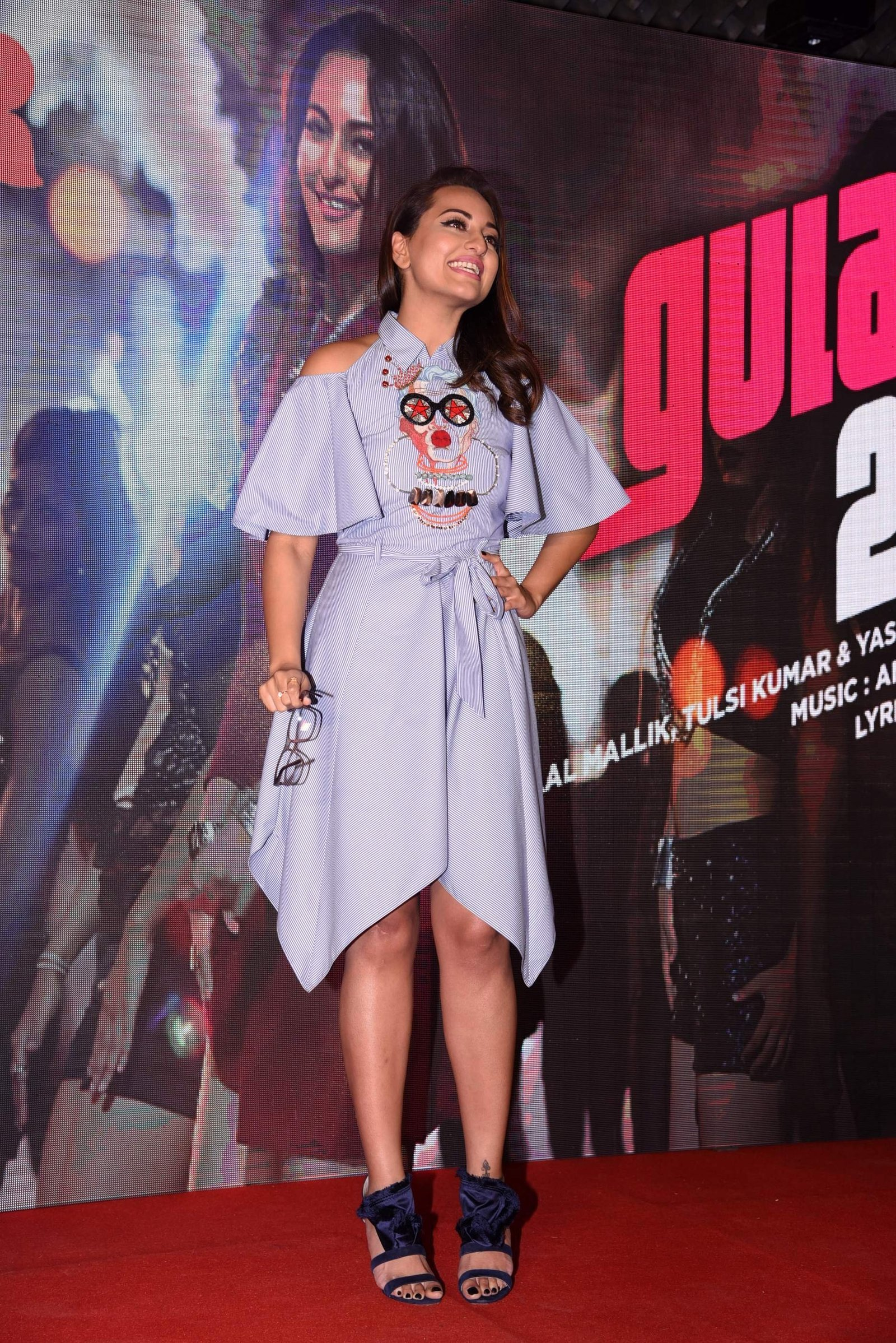 Sonakshi Sinha During Launch Of Noor film Song Gulabi 2.0 Images