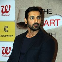 John Abraham launches Dr Aashish Contractor's book The Heart Truth Photos