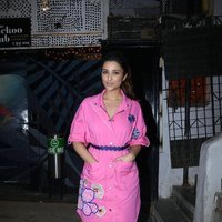 Parineeti Chopra Spotted during Meri Pyaari Bindu Promotion Images