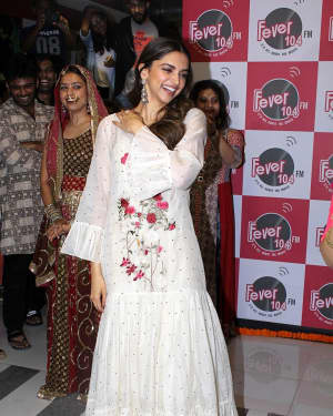 In Pics: Deepika Padukone Promotes Film Padmavati At Fever 104 FM