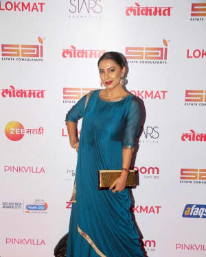 Kranti Redkar - In Pics: Red Carpet Of 2nd Edition Of Lokmat Maharashtra's Most Stylish Awards 2017