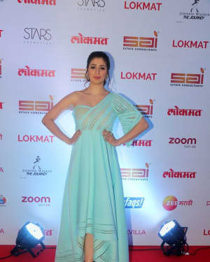 Raai Laxmi - In Pics: Red Carpet Of 2nd Edition Of Lokmat Maharashtra's Most Stylish Awards 2017