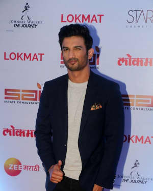 Sushant Singh Rajput - In Pics: Red Carpet Of 2nd Edition Of Lokmat Maharashtra's Most Stylish Awards 2017