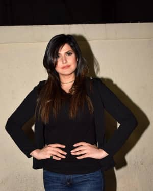 Photos: Zareen Khan Host Special Screening Of Film Aksar 2