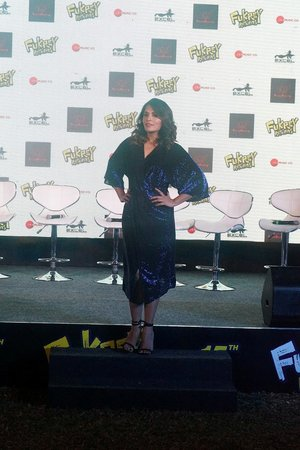 Richa Chadda @ Photos: Mehbooba Song Launch Of Film Fukrey Returns