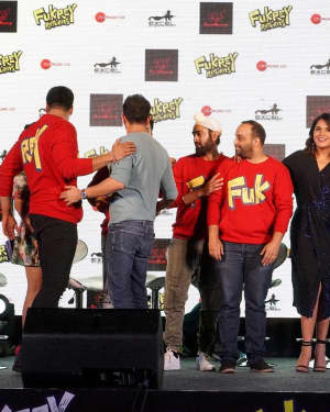 Photos: Mehbooba Song Launch Of Film Fukrey Returns